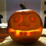 Pumkin Carving 2010