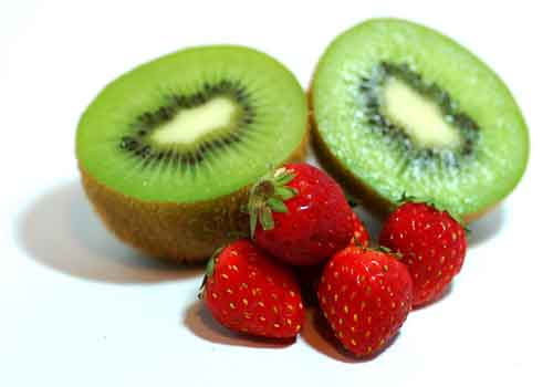 Strawberry Kiwi Smoothie w/ Whey Protein Recipe