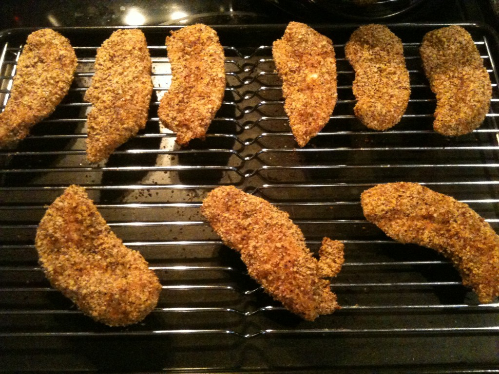 Simple Slow Carb Spicy Chicken Strips Recipe
