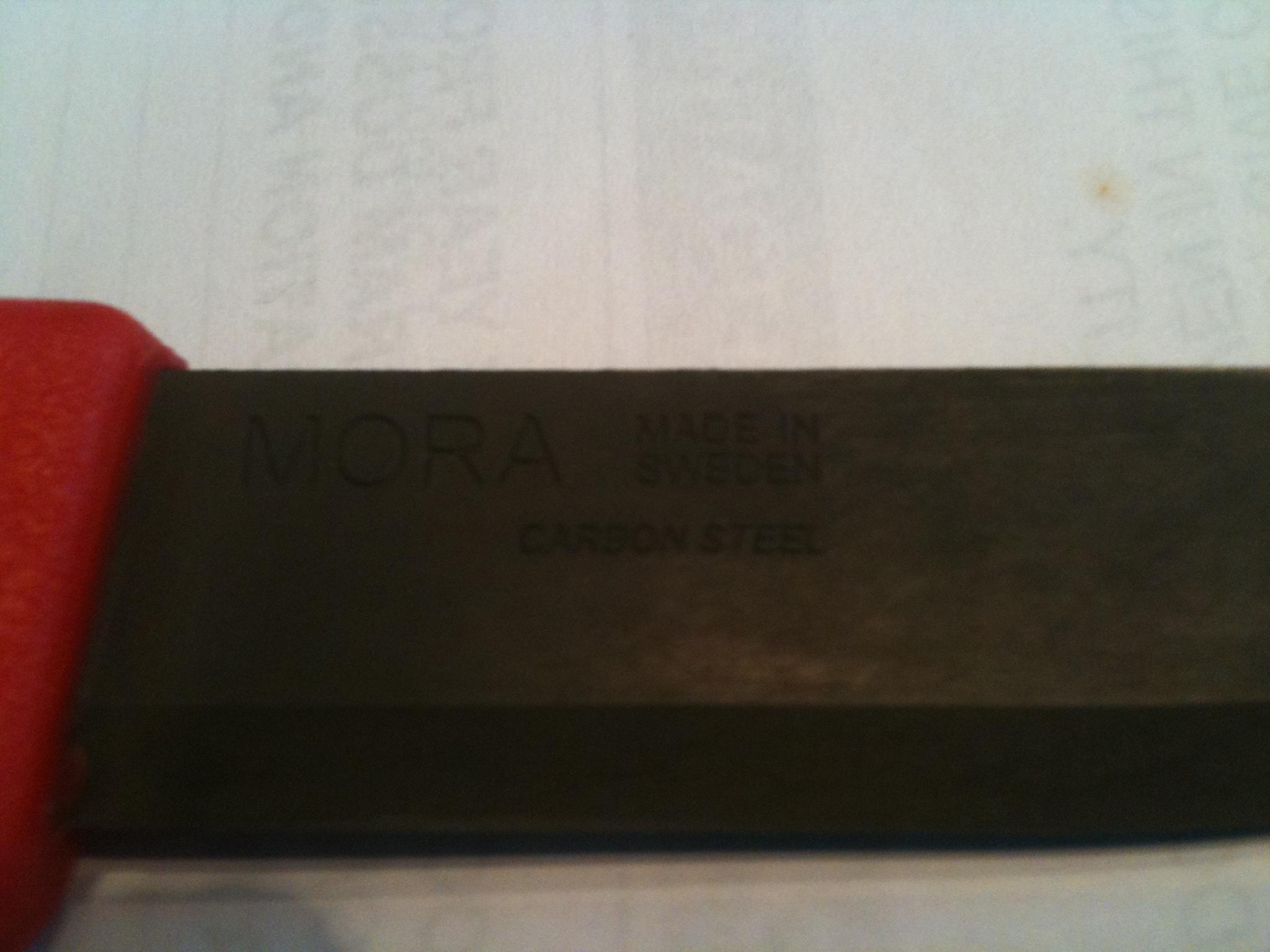 Mora Clipper 840 – Forced Patina
