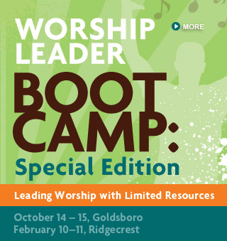 Leading Worship with Limited Resources