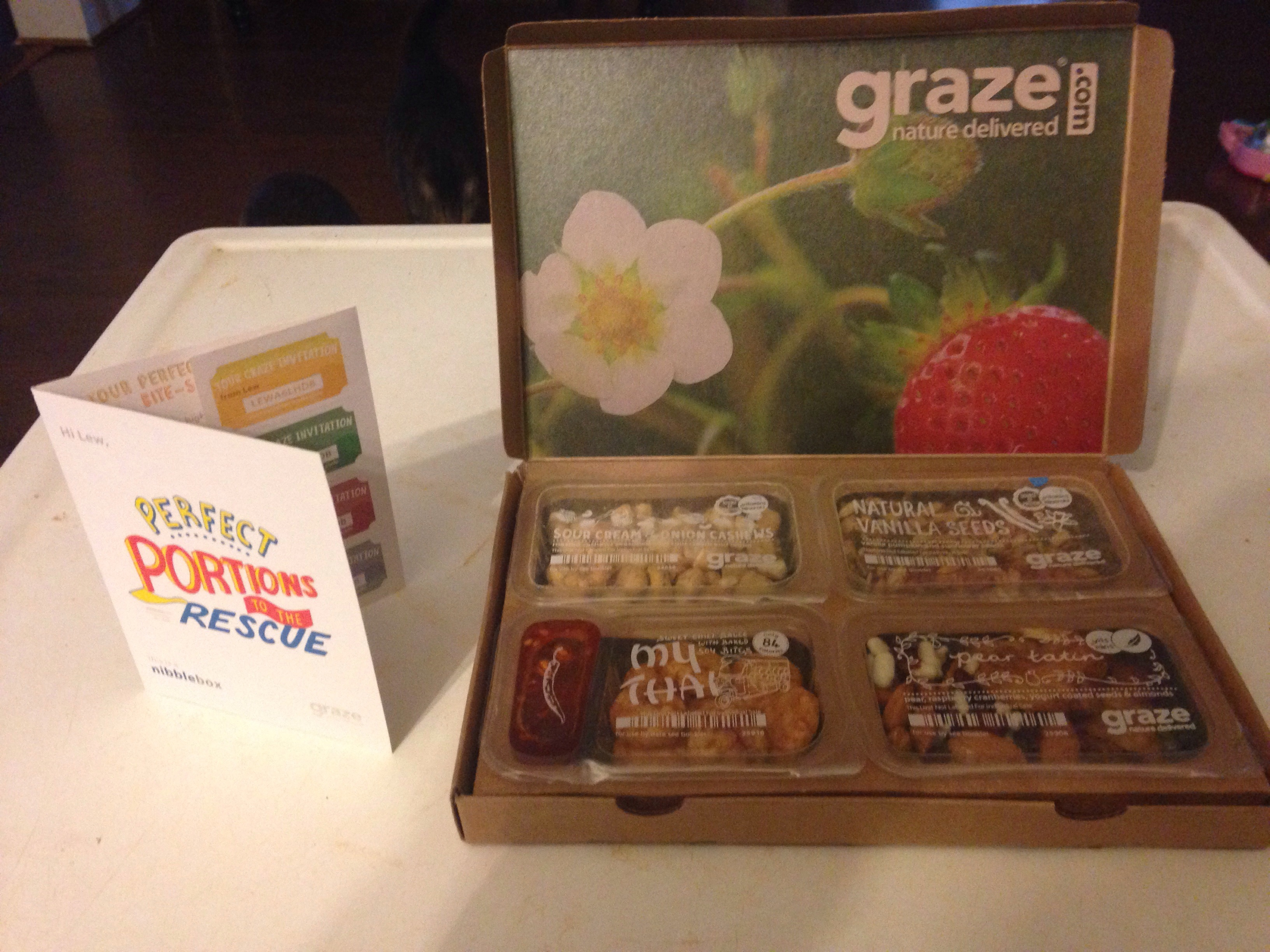 Graze Box Review, Take 2